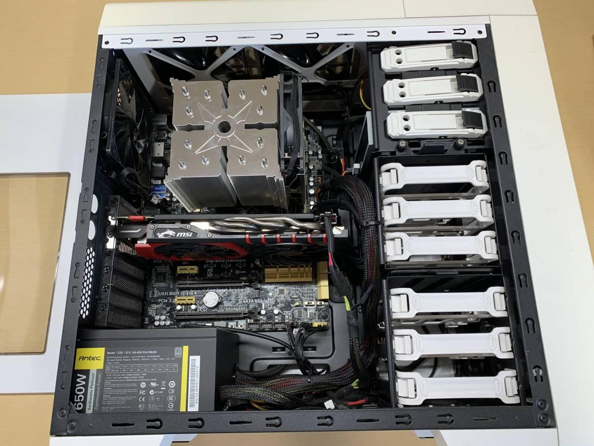自作PC i7-4790K DDR3 16GB GTX960 4GB _画像2