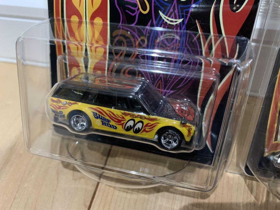超希少!ホットウィール hotwheels '71 Datsun ブルーバード 510 ワゴン コンベンションカー 2019 ムーンアイズ _画像2