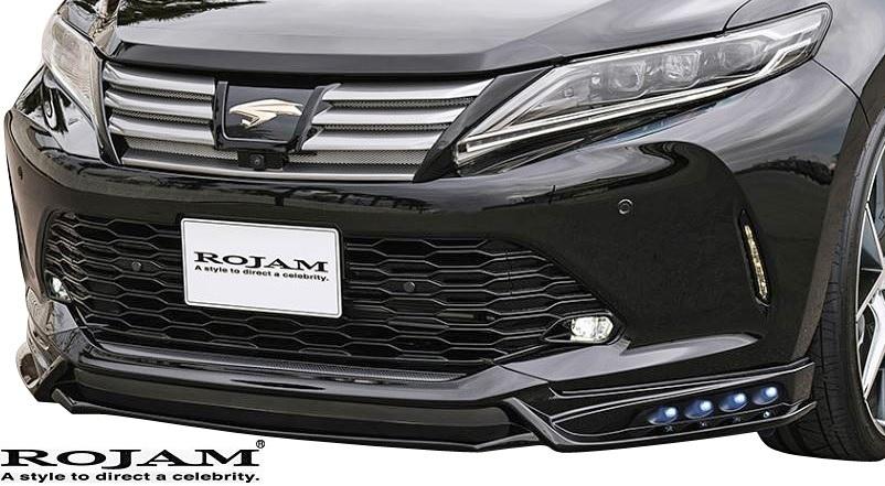 【M's】トヨタ 60系 後期 ハリアー(2017/6-) ROJAM IRT LED.Ver エアロキット Ver.3 (F+R)//FRP 60ハリアー ロジャム エアロ フルエアロ_画像6