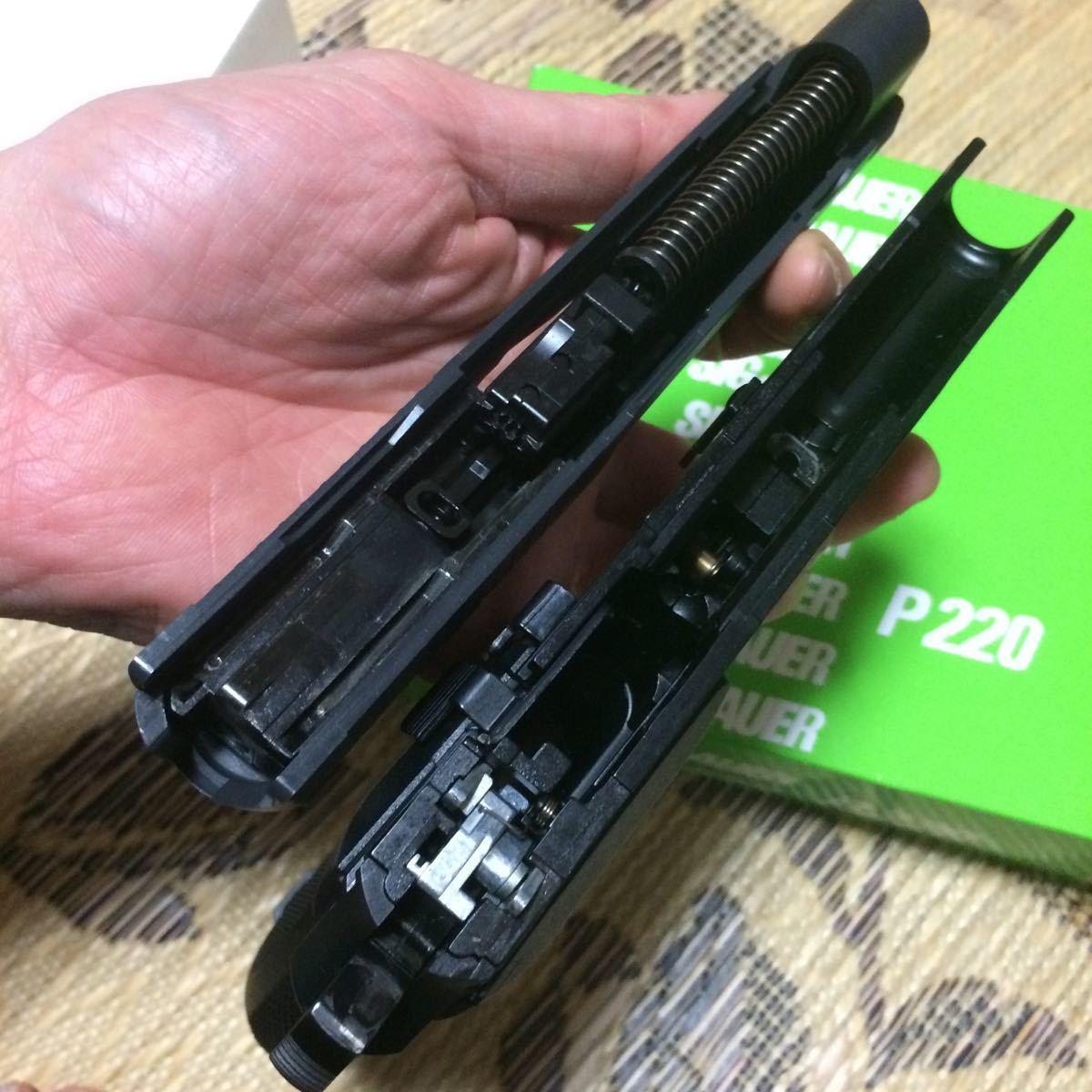 タナカ 航空自衛隊 P220 9mmけん銃 9mm拳銃 Ic ABS ガスブローバック_画像9
