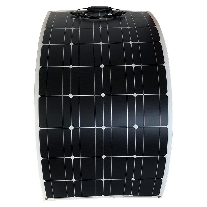 高効率な単結晶200Wソーラーパネル!フレキシブルタイプ!太陽光発電 エコ 節約 12V蓄電に!薄型軽量で曲面設置が可能!本州法人送料無料!_画像6