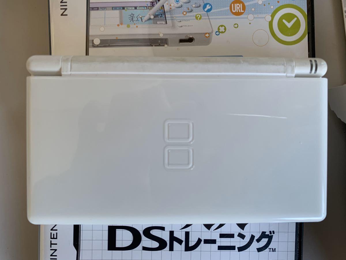 【即決】動作確認済 ニンテンドー DS lite 本体 + DSブラウザ + 脳トレ ソフト付き 任天堂_画像4