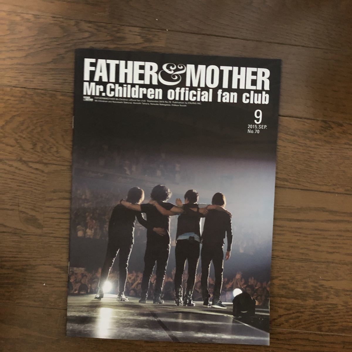 Mr.Children FATHER & MOTHER official fan club ファンクラブ会報 No.59~No.70 全12冊セット_画像2