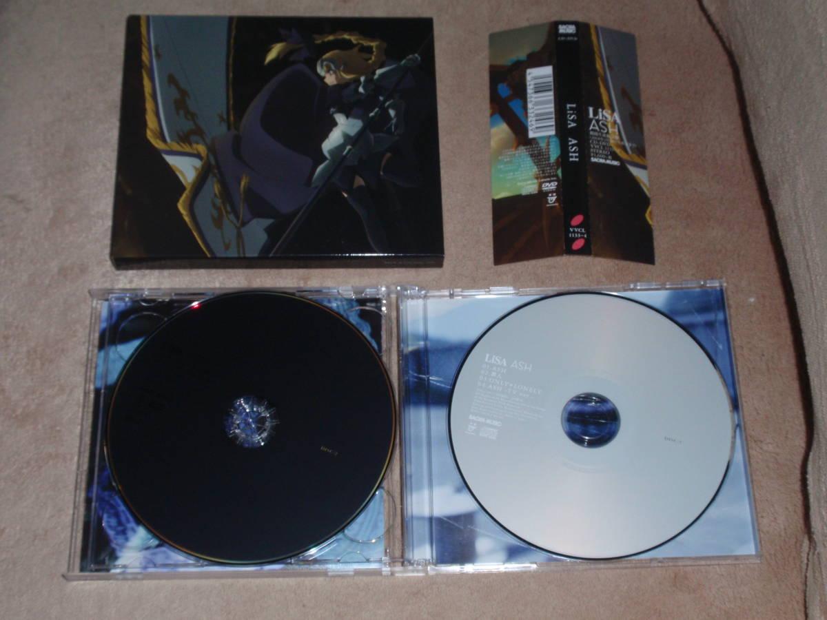 Fate/Apocrypha OP主題歌 期間生産限定盤DVD付 ASH  LiSA アニソン オープニングテーマ_画像3
