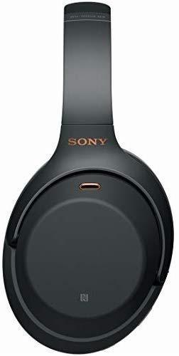 新品♪ ソニー SONY ワイヤレスノイズキャンセリングヘッドホン ☆ WH-1000XM3 B LDAC Bluetooth ハイレゾ 密閉型 マイク付 ブラック_画像3