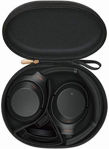 新品♪ ソニー SONY ワイヤレスノイズキャンセリングヘッドホン ☆ WH-1000XM3 B LDAC Bluetooth ハイレゾ 密閉型 マイク付 ブラック_画像6