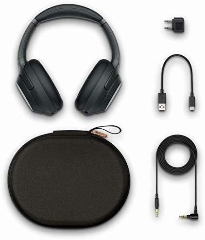 新品♪ ソニー SONY ワイヤレスノイズキャンセリングヘッドホン ☆ WH-1000XM3 B LDAC Bluetooth ハイレゾ 密閉型 マイク付 ブラック_画像5