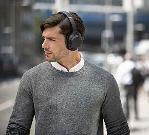 新品♪ ソニー SONY ワイヤレスノイズキャンセリングヘッドホン ☆ WH-1000XM3 B LDAC Bluetooth ハイレゾ 密閉型 マイク付 ブラック_画像8