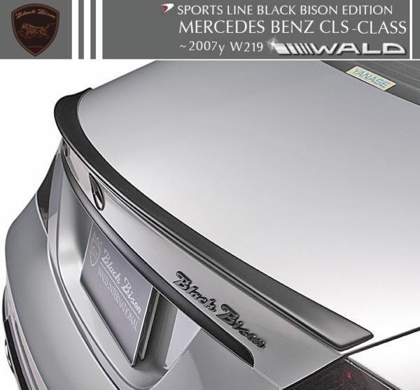 【M's】W219 ベンツ CLSクラス 前期(2005y‐2007y)WALD Black Bison トランクスポイラー//FRP製 ヴァルド CLS350 CLS500 CLS550_画像1