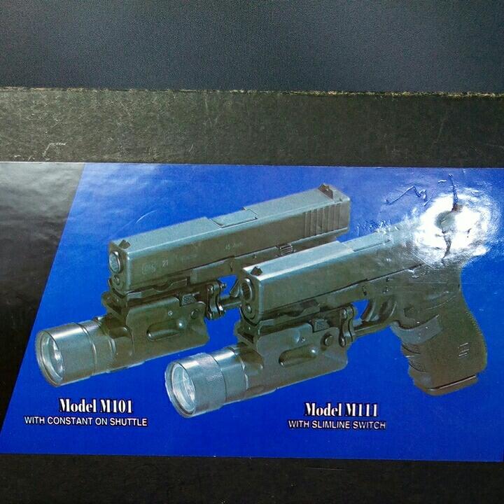 本体なし SUREFIRE MILLENIUM Weaponlight M101 LASER PRODUCTS GLOCK MOUNT 箱バルブグロック用マウント ベース_画像3
