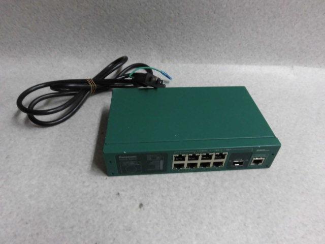 ▲ Ω保証有 ZK2 800) Switch-M8eG PN28080 パナソニック 8ポート L2スイッチングハブ(Giga対応) 領収書発行可能 仰天価格 同梱可_画像1