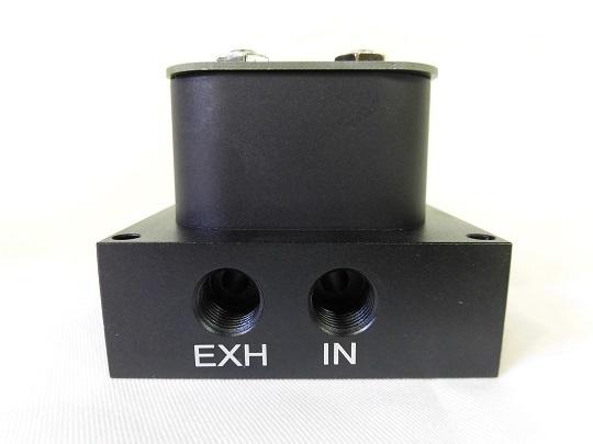 エアサス マニホールドバルブ+ワイヤレスリモコンキット 2独電磁弁 新品_画像2