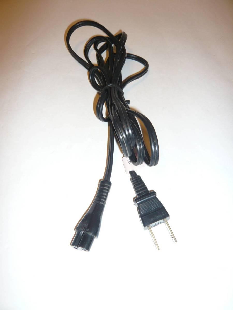 メガネ型AC電源ケーブル AC電源コード 4本まとめてセットで ※中古_画像6