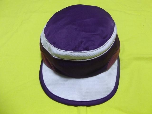 ★PHENIX フェニックス マジクール Magicool マラソン ランニングキャップ フリー メッシュ サイズ調整付 パープル 帽子