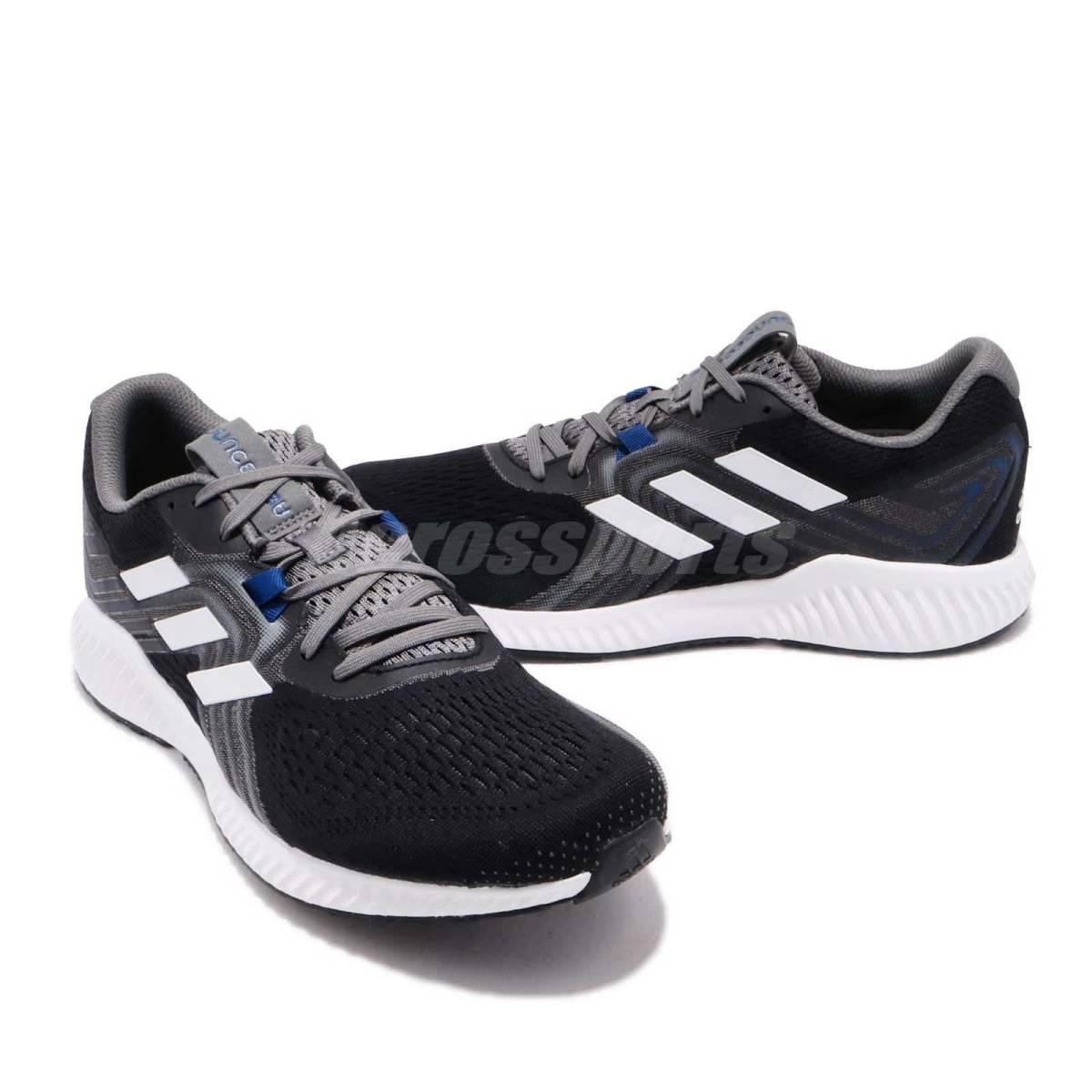 新品 ADIDAS アディダス スニーカー ランニングシューズ エアロバウンス2 トレーニングシューズ ウォーキングシューズ 運動靴 27cm_画像1
