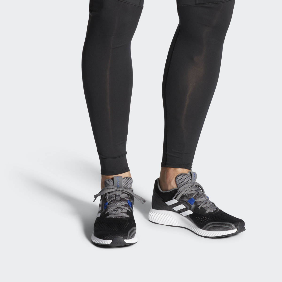 新品 ADIDAS アディダス スニーカー ランニングシューズ エアロバウンス2 トレーニングシューズ ウォーキングシューズ 運動靴 27cm_画像3