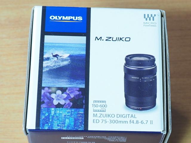 オリンパス M.ZUIKO DIGITAL ED 75-300mm F4.8-6.7 II + 純正フード付 LH-61E_画像9