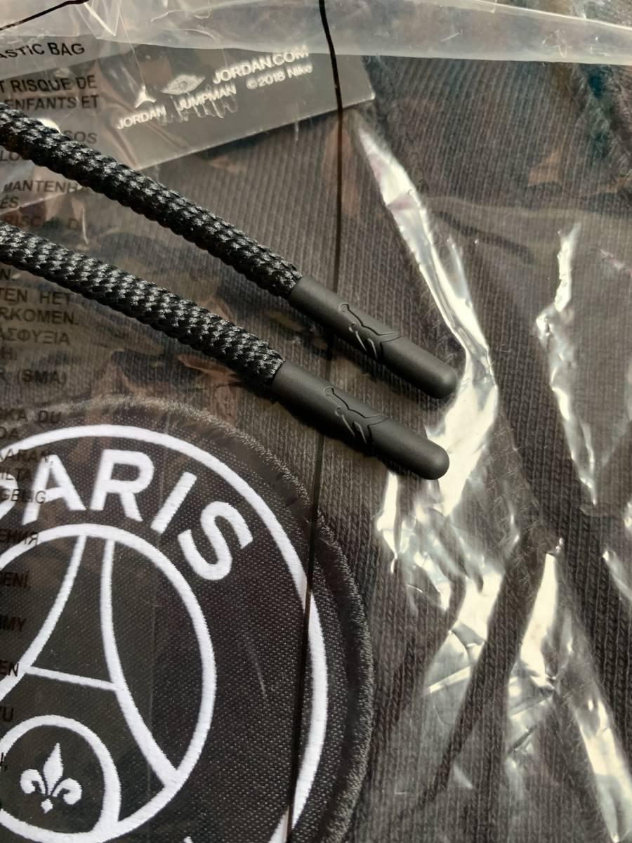 新品☆サイズXS☆NIKE AIR JORDAN × PSG WINGS ナイキ パリサンジェルマン フルジップパーカー PARIS 正規品 ジョーダン 人気ブラック!
