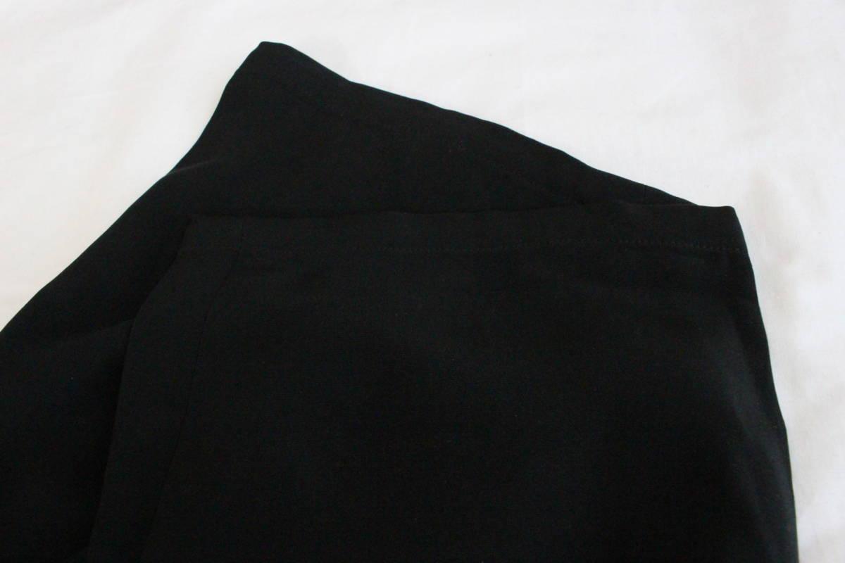 【 Yohji Yamamoto POUR HOMME 】 ヨウジヤマモト プールオム ブラック シルクパンツ / 黒 / 2 / 絹_画像9