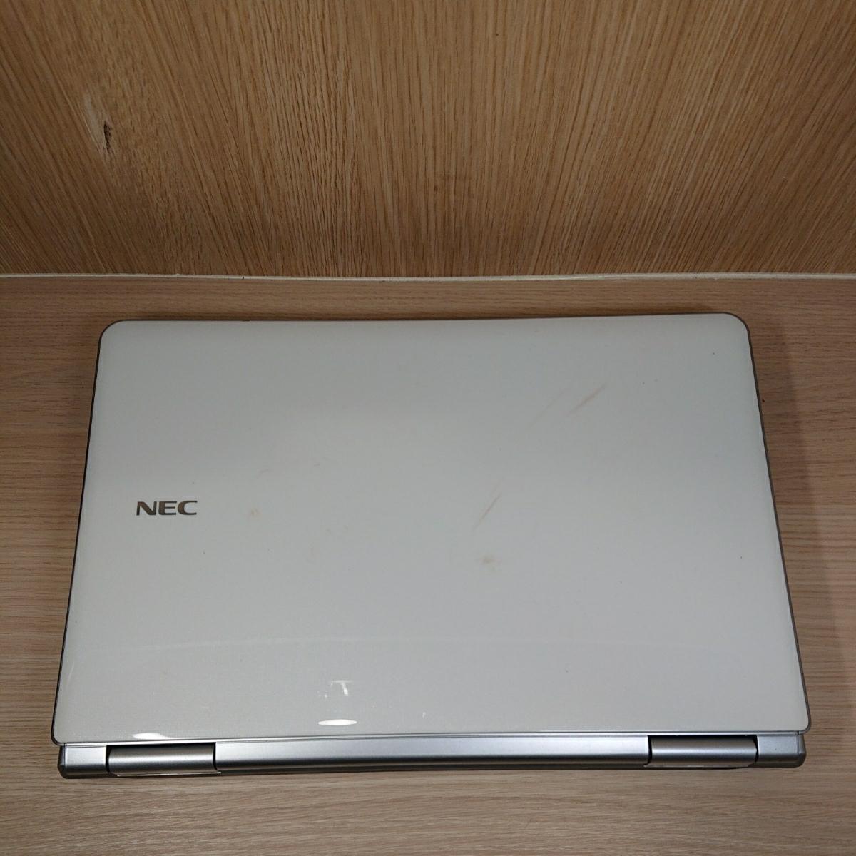 【B26】即決特典 爆速SSD240GB NEC LaVie LL750 ホワイト YAMAHAsound ノートパソコン core i7-2670QM メモリ8GB Windows10 Office2019 _画像8