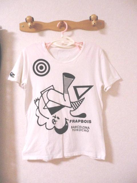 値下 即決有 フラボア × バルセロナ横町 FRAPBOIS × BARCELONA YOKOCHO Tシャツ 日本製 〒180_画像1