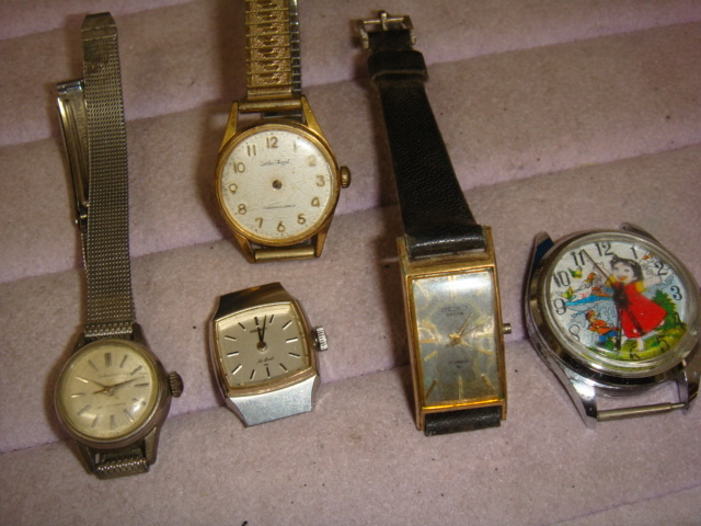 ◆◇557M【アンティーク】セイコーエンジェル・ハイビート・サルビア・他 手巻き腕時計 5本◇◆_画像1
