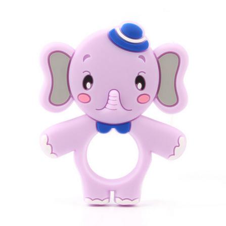 Y2518☆★☆象シリコーンおしゃぶりベビーネックレスペンダントかわいい看護おもちゃ食品グレードシリコーン☆★☆_画像9