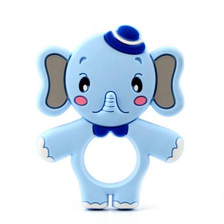 Y2518☆★☆象シリコーンおしゃぶりベビーネックレスペンダントかわいい看護おもちゃ食品グレードシリコーン☆★☆_画像7