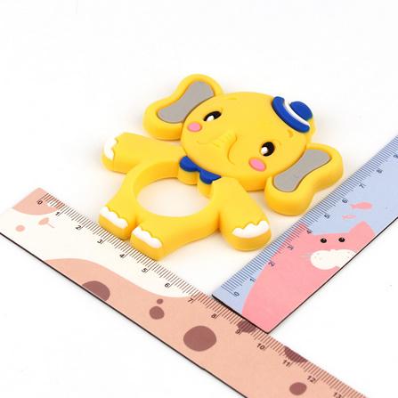 Y2518☆★☆象シリコーンおしゃぶりベビーネックレスペンダントかわいい看護おもちゃ食品グレードシリコーン☆★☆_画像5