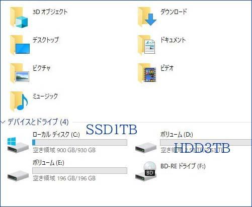 ◆ 自作ゲームPC/Win10/Corei7-6700K/新品SSD 1TB/ HDD 3TB / M16GB /Office2019/R9-270グラボ/BD/WiFi/Bluetooth搭載 ◆_画像6