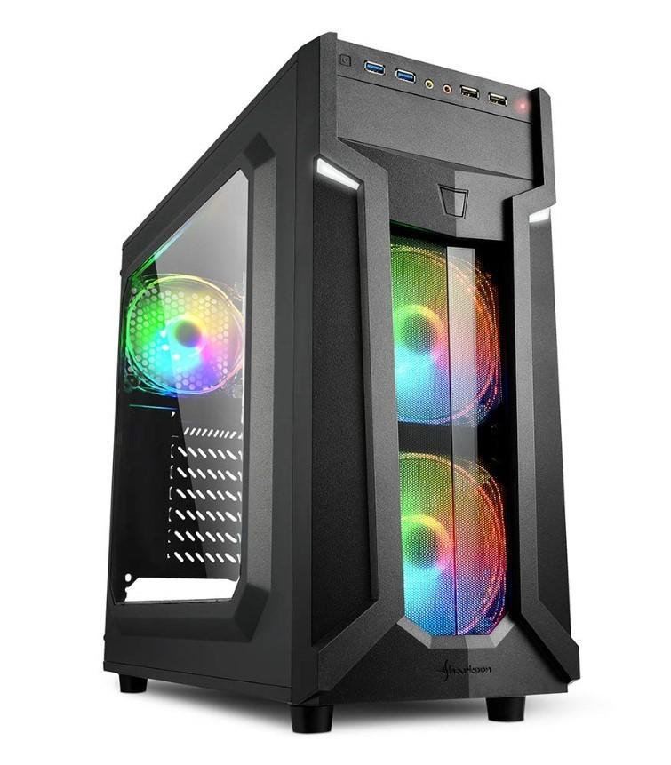 ◆ 自作ゲームPC/Win10/Corei7-6700K/新品SSD 1TB/ HDD 3TB / M16GB /Office2019/R9-270グラボ/BD/WiFi/Bluetooth搭載 ◆