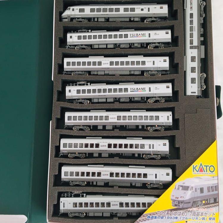 KATO 10-320 10-321 787系 つばめ 基本・増結セット 9両 ※鹿児島・長崎・日豊本線~415系、475系、485系、783系並走