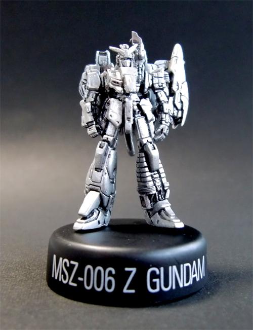 ガンダムMFS4 シークレット Zガンダム(オープンハッチ) ガンダム ミニフィギュアセレクション 第4弾 未開封