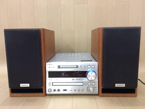 ONKYO X-N7XX ( FR-N7XX / D-N7XX ) CD/MD/USB/Tunerコンポ ★高音質MD最終機種★整備済みフルセット ◆_画像4