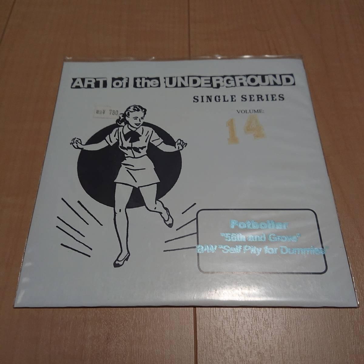 【Potboiler - Art Of The Underground Single Series】latterman rvivr iron chic jawberaker