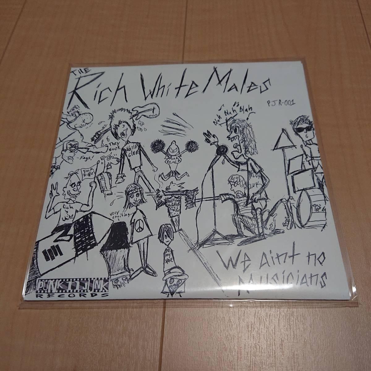 【The Rich White Males - We Aint No Musicians】queers dwarves pop punk