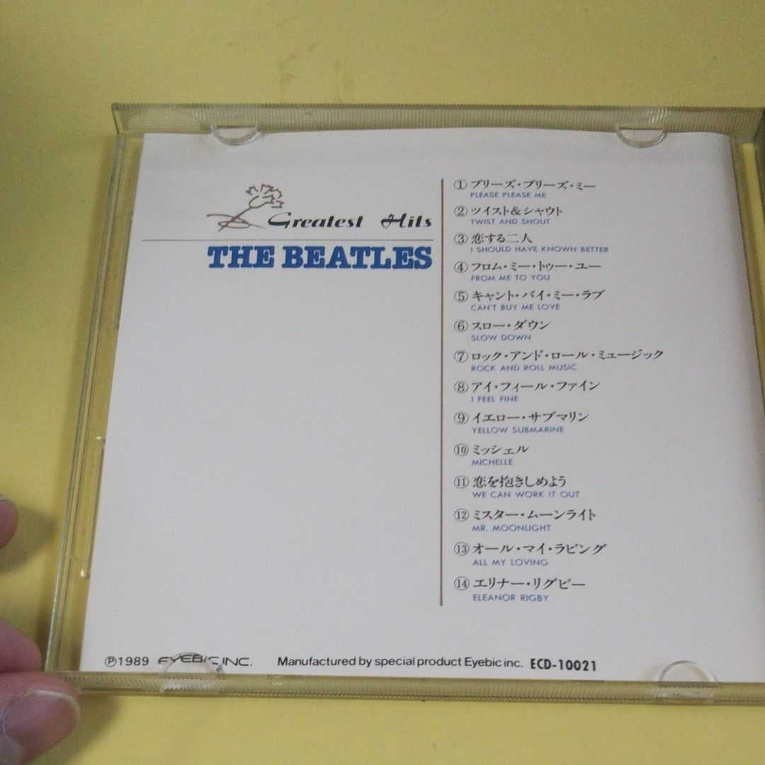 CDアルバム 中古品 THE BEATLES ビートルズ BIG ARTIST FLASHGreatest Hits ジョン・レノン ポール・マッカートニー