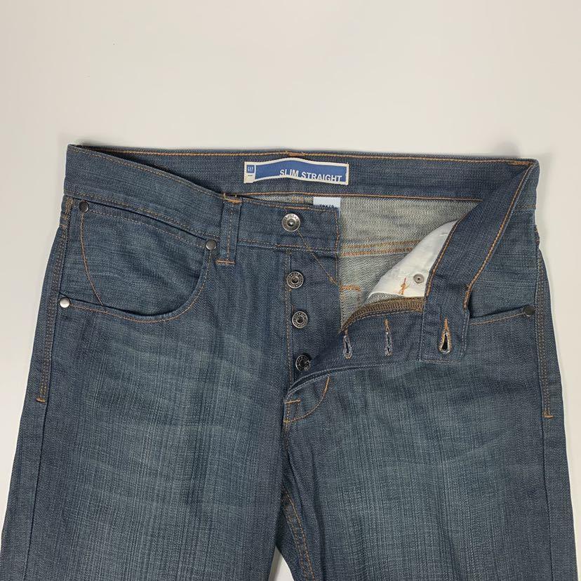 GAP SLIM STRAIGHT スリムストレートジーンズ デニム パンツ size 79×76 ギャップ