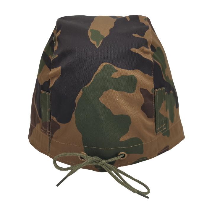 数量限定 航空自衛隊 野戦迷彩 カバー ヘルメット 鉄帽覆い ヘルメットカバー ミリタリー サバゲー 空自_画像5