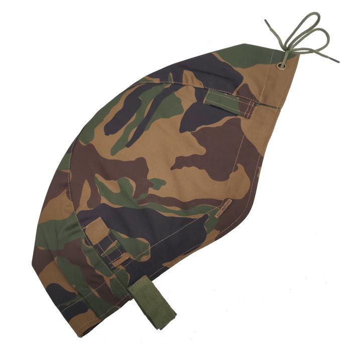 数量限定 航空自衛隊 野戦迷彩 カバー ヘルメット 鉄帽覆い ヘルメットカバー ミリタリー サバゲー 空自_画像2