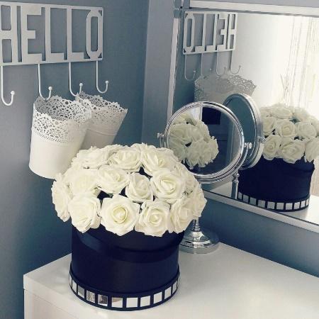 アートフラワー 人工PEローズ 25ヘッド 8センチ 新しい カラフル 花 花嫁 ブーケ ホーム 結婚式 装飾 DIY ギフト mt999_画像1