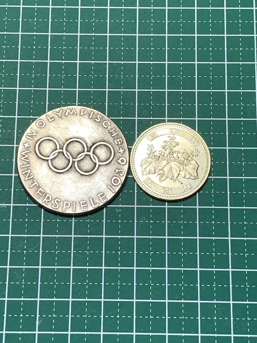 Ω1936年 ドイツベルリン オリンピック 古銭硬貨銀貨系 レア記念 メダルコイン アンティーク 希少骨董 海外外国世界 復刻レプリカ よ15_画像4