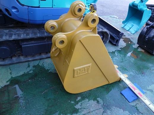 中古 三菱(CAT)油圧ショベルREGA308型用バケツ 建設機械・ユンボ・建設作業・ミニショベル_画像3