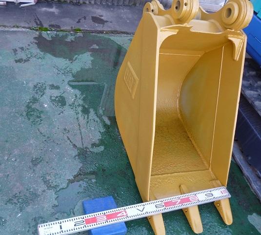 中古 三菱(CAT)油圧ショベルREGA308型用バケツ 建設機械・ユンボ・建設作業・ミニショベル_画像1