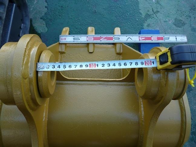 中古 三菱(CAT)油圧ショベルREGA308型用バケツ 建設機械・ユンボ・建設作業・ミニショベル_画像2