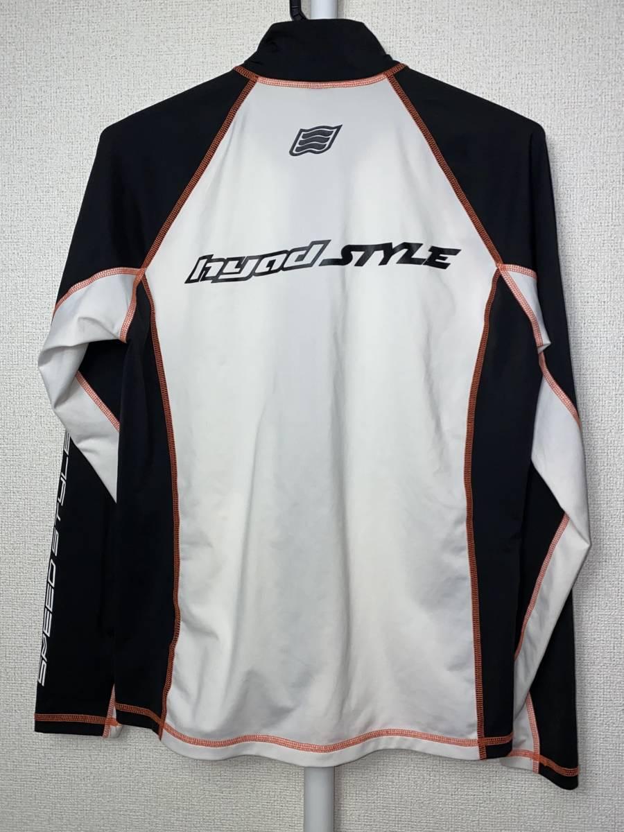 《中古・美品》HYOD STYLE インナーシャツ ホワイト/ブラック サイズ:M _画像4