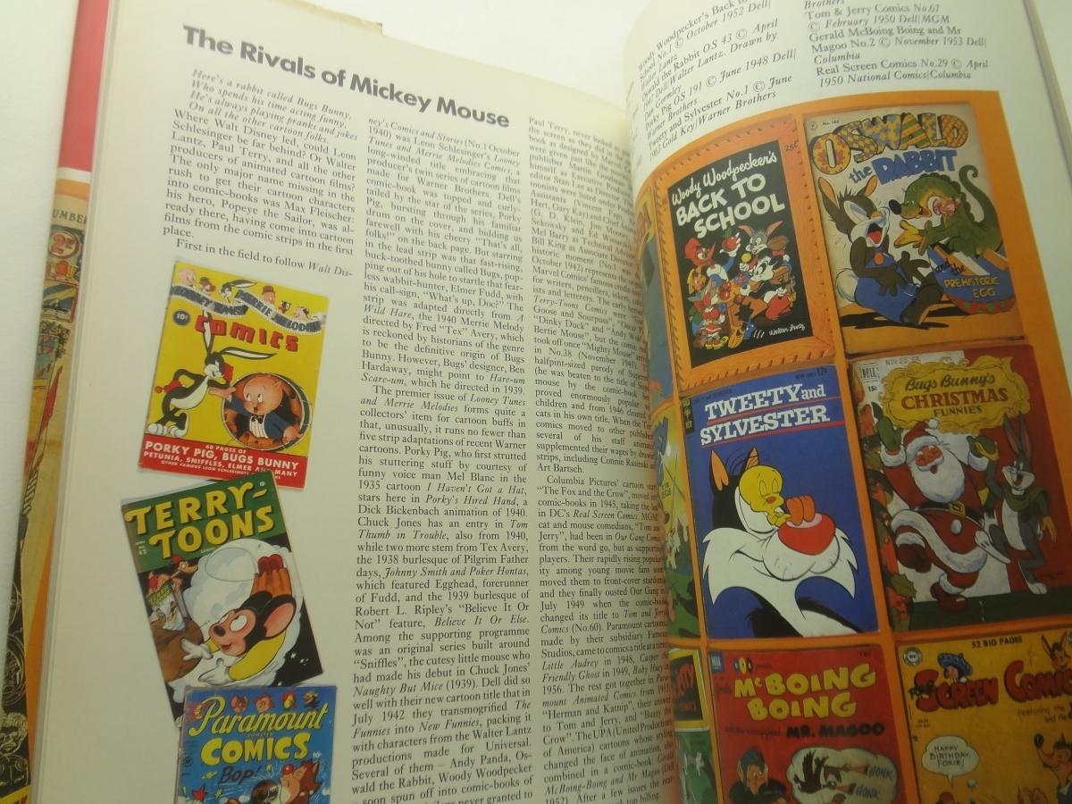 The International Book of Comics アメコミ Spiderman Superman Disney Tarzan Hulk Batman_画像3