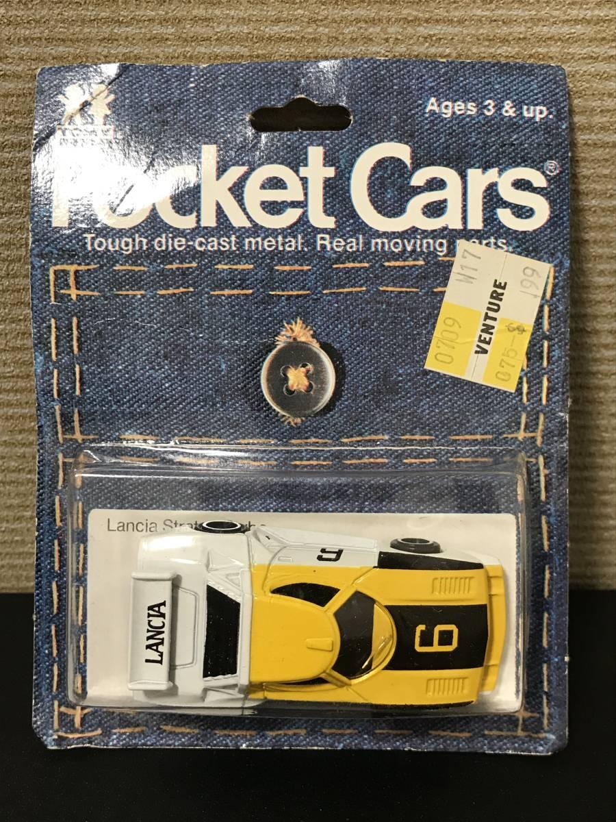 トミカ 輸出 F66-1-11 ランチア ストラス ターボ Pocket Cars 日本製