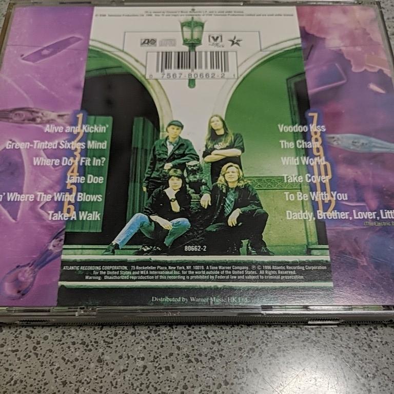 Mr.Big ライブベスト CD