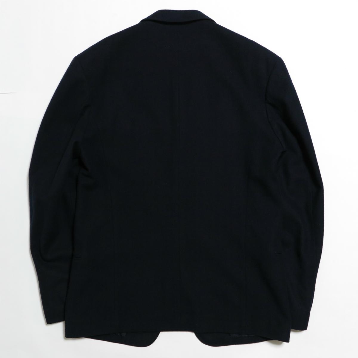 80s Yohji Yamamoto POUR HOMME 1987AW Melton Wool Jacket M ヨウジヤマモト プールオム ジャケット ヴィンテージ アーカイブ 初期_画像2